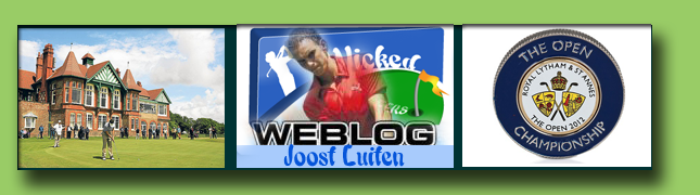 Joost Luiten in zijn tweede Major - The Open 2012