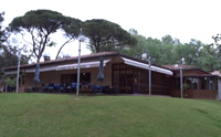 the club house of Tirrenia Golf