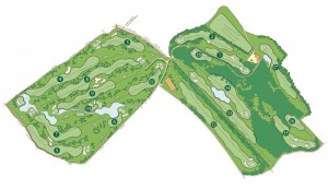 Course map Castel d'Aviano