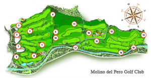 Molino del Pero course map