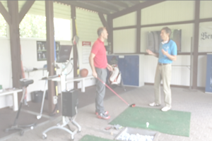 golf lesson with Michael Lins