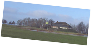 first picuter of the countdown; Peelse Golf Club house