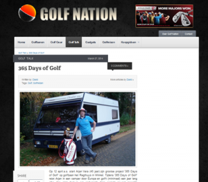 collega van golf nation schrijft over 365 Days of Golf