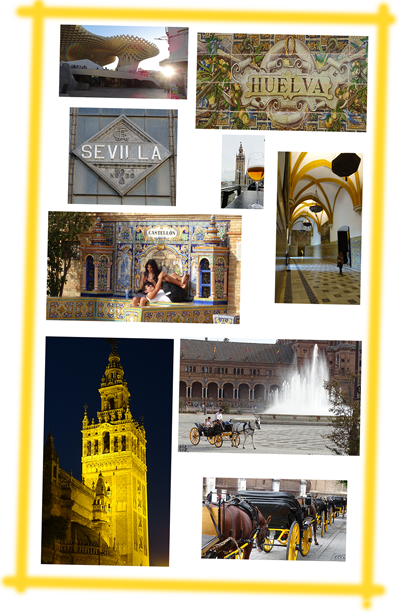 Impression of Seville- Andalusia